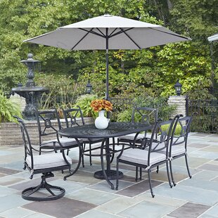 Darby Home Co Lansdale 9 Piece Dining Set with Cushions