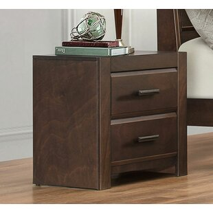 Houlihan 2 Drawer Nightstand by Red Barrel Studio