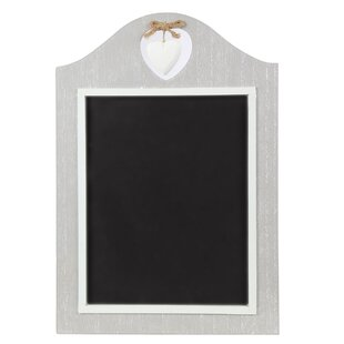 Heart Wall Mounted Chalkboard By Lily Manor