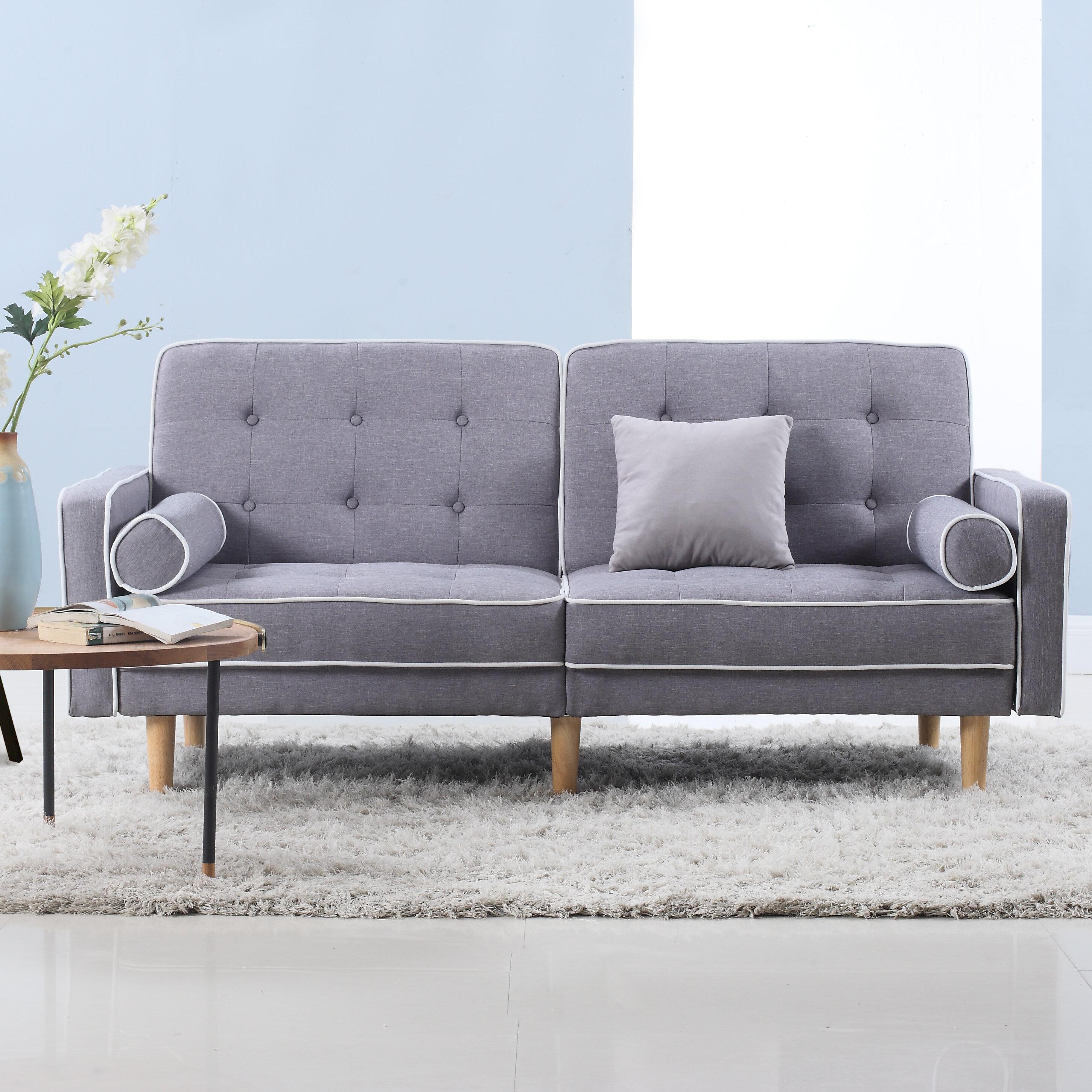 Beautiful Madison Home USA Mid Century Modern Convertible Sofa U0026 Reviews   Wayfair