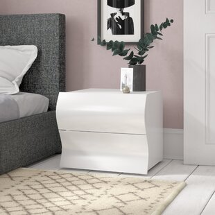 Colbie 2 Drawer Bedside Table By Zipcode Design