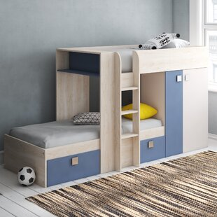 Hensley Extra Long Twin High Sleeper Bed With Drawers By Isabelle & Max