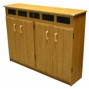 Red Barrel Studio Top Load Multimedia Cabinet