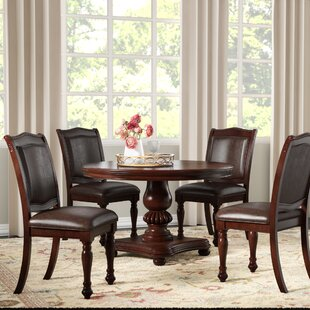 Grundy 5 Piece Dining Set by Three Posts