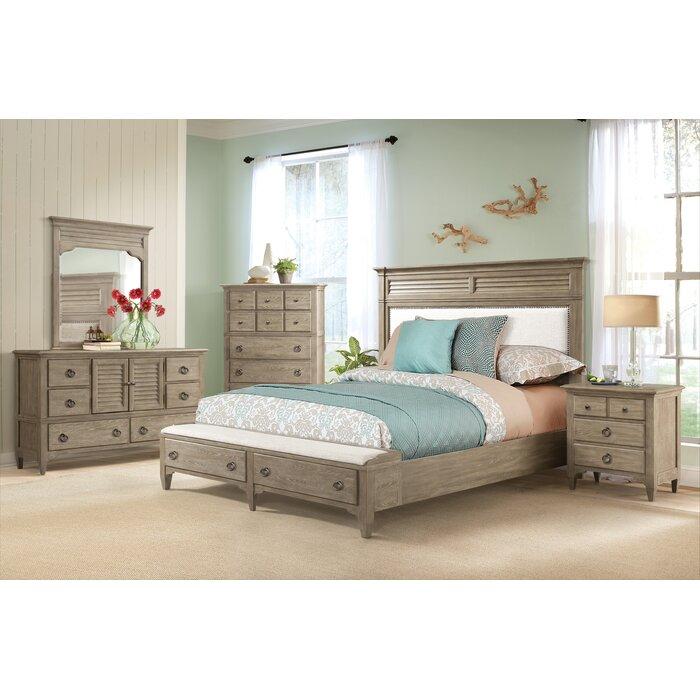 Manhart Platform 6 Piece Bedroom Set