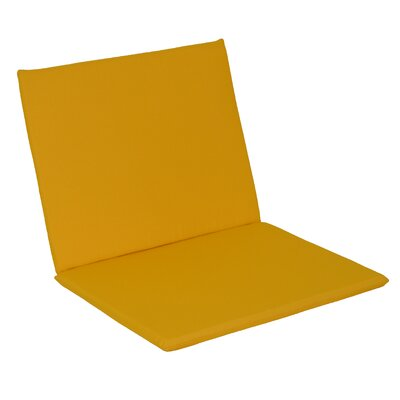 Agora Outdoor Adirondack Chair Cushion Fabric: Yellow
