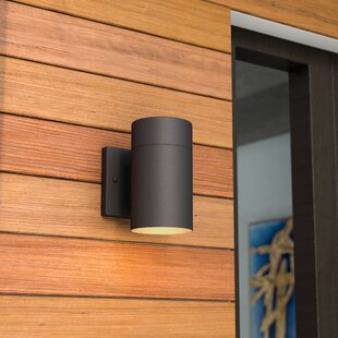 Cano 1-Light Outdoor Sconce by Wade Logan