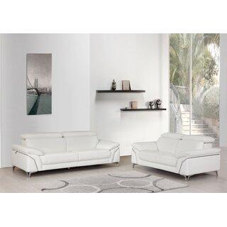 Almaden 2 Piece Leather Living Room Set by Orren Ellis SKU:CB870511 Order