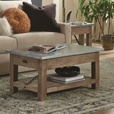 Crockett Coffee Table with Storage by Alaterre