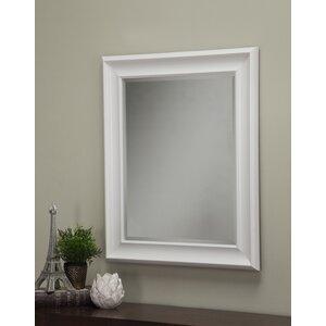 save to idea board - White Frame Mirror