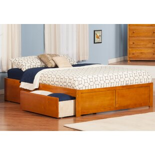 Mackenzie King Storage Platform Bed