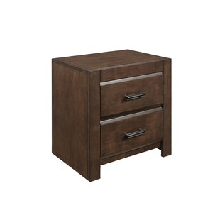 Mccarver 2 Drawer Nightstand