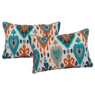 Croft Indoor/Outdoor Lumbar Pillow (Set of 2)