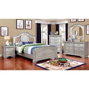 Lorain Panel 4 Piece Bedroom Set