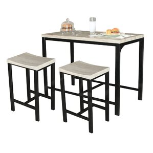 Biron 3 Piece Dining Set by Varick Gallery