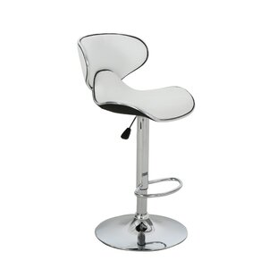Dufrene Faux Leather Adjustable Height Sw..
