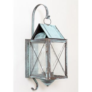 Brass Traditions 300 Series 1-Light Outdoor Wall Lantern