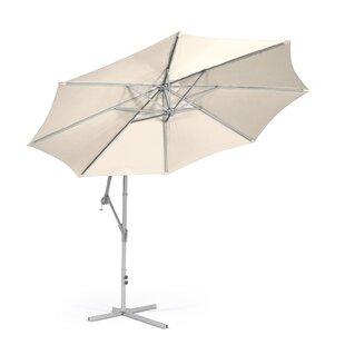Kawamura Hanging Crank 9.8' Market Umbrella by Alcott Hill