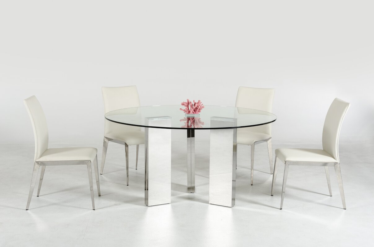 Clower Metal Base Dining Table