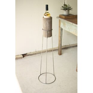 Grimes Wash Clay Floor Wine Rack by Williston Forge