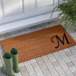 Decaro Monogram Doormat