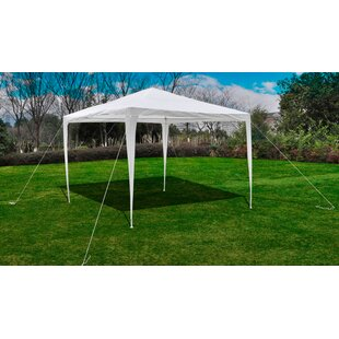10 Ft. W x 8 Ft. D Steel Pop-Up Canopy by Freeport Park