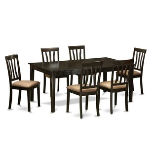 Henley 7 Piece Extendable Dining Set Wooden Importers