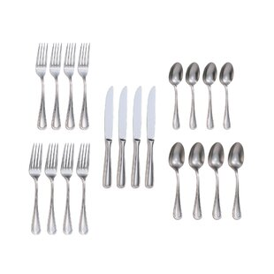 Rybicki 20 Piece 18/10 Stainless Steel Flatware Set, Service for 4