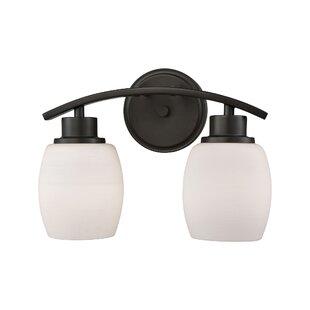 Adalyn 2-Light Vanity Light By Ebern Designs