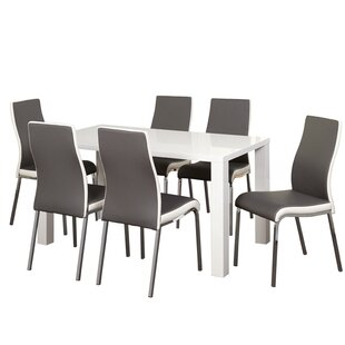 Matteoli 7 Piece Dining Set Orren Ellis
