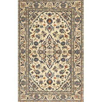 Bungalow Rose Wilmes Traditional Casual Ivory Rug Wayfair