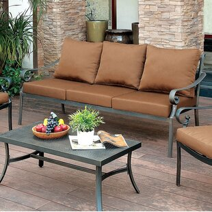 Clemence Patio Sofa with Cushions