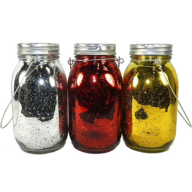 Mason+Jar+Lantern+Set
