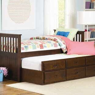 Find the perfect Zachary Twin Trundle Bed by Woodhaven Hill Reviews (2019) & Buyer's Guide