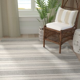 Find the perfect Fitzgerald Gray/White Area Rug By Breakwater Bay