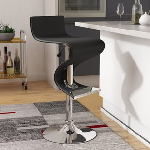 Alton Adjustable Height Bar Stool by Wade..