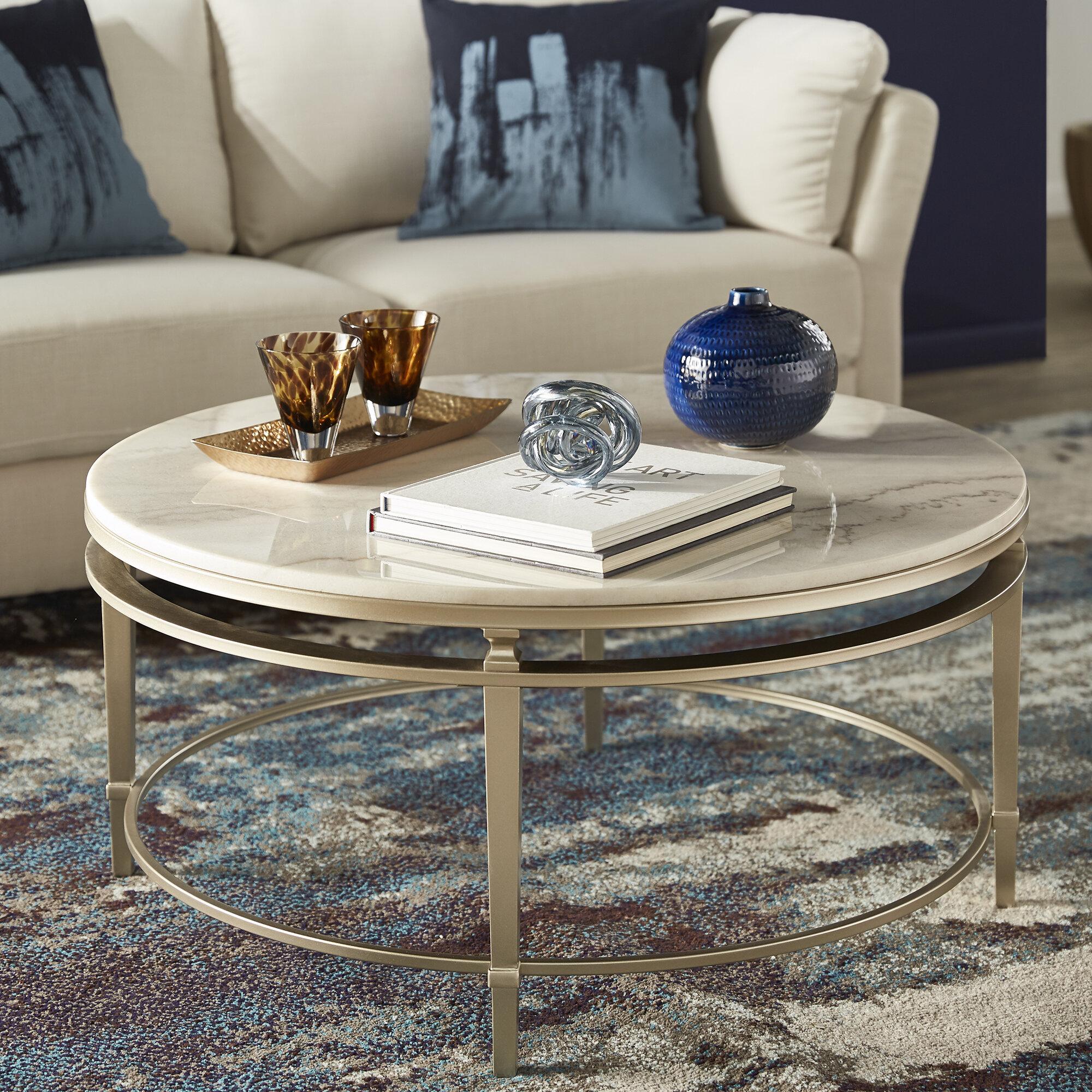 Everly Quinn Velasco Frame Coffee Table Reviews Wayfair