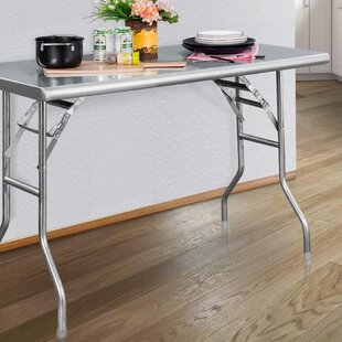 Price comparison Heavy Duty 48 Rectangular Folding Table By Royal Gourmet Corp