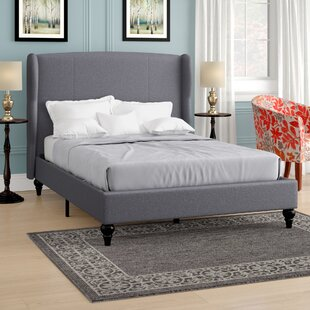 Looking for Kassandra Linen Upholstered Platform Bed with Shelter Headboard by Ophelia & Co. Reviews (2019) & Buyer's Guide