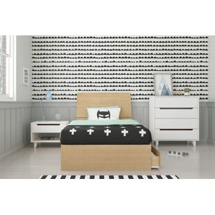 Leesburg Twin Platform 4 Piece Bedroom Set by Ebern Designs