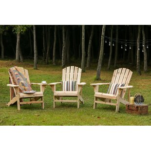 Stebbins Solid Wood Adirondack Chair