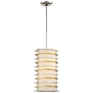 Alethea 1-Light LED Cylinder Pendant