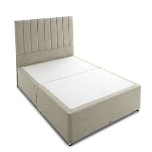 Sancho Comfort Quilted Divan Set Including Mayfair Stripe Headboard By 17 Stories
