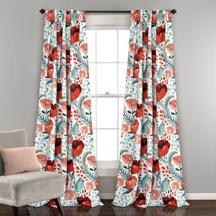 cute drapes home pair floral curtains fashions inches interiors greenland panel size and neon polyester watercolor curtain pin fabrics multi drapery dream