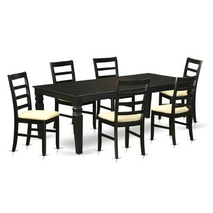 Cedarwood 7 Piece Dining Set by Red Barre..
