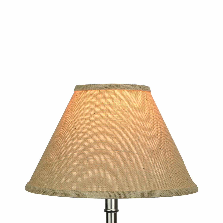 Fenchel Shades 8 H X 12 W Burlap Empire Lamp Shade Chimney Style Wayfair