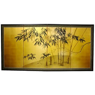 Maurice 4 Panel Room Divider by World Menagerie