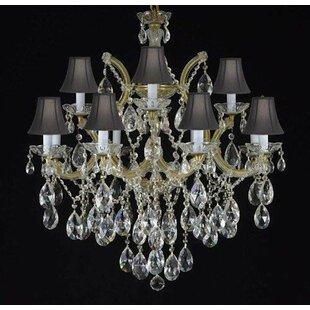 Alvarado 7-Light Shaded Chandelier by Astoria Grand