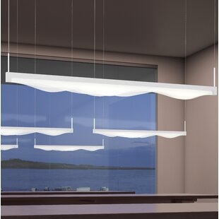 1-Light LED Kitchen Island Pendant by Sonneman