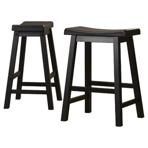 Bates Bar Stool Black (Set of 2)